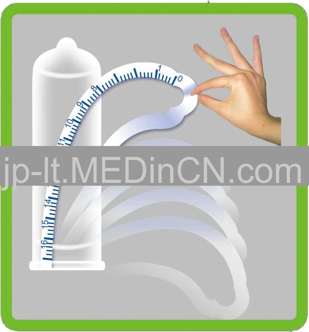 Measure  condom