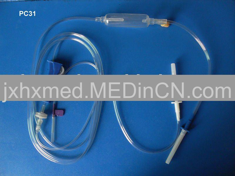 Automatic-Exhaust Infusion Set (PC31)