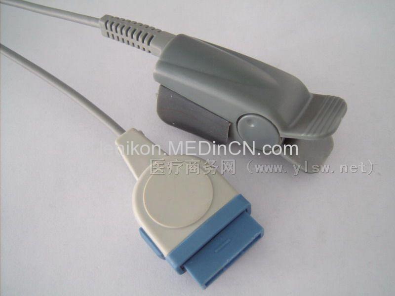 Ge Adult Finger Clip SpO2 Sensor