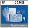 Disposable enema wash package