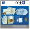Disposable sterile catheterization package