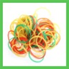 yellow elastic latex  natural rubber  bands