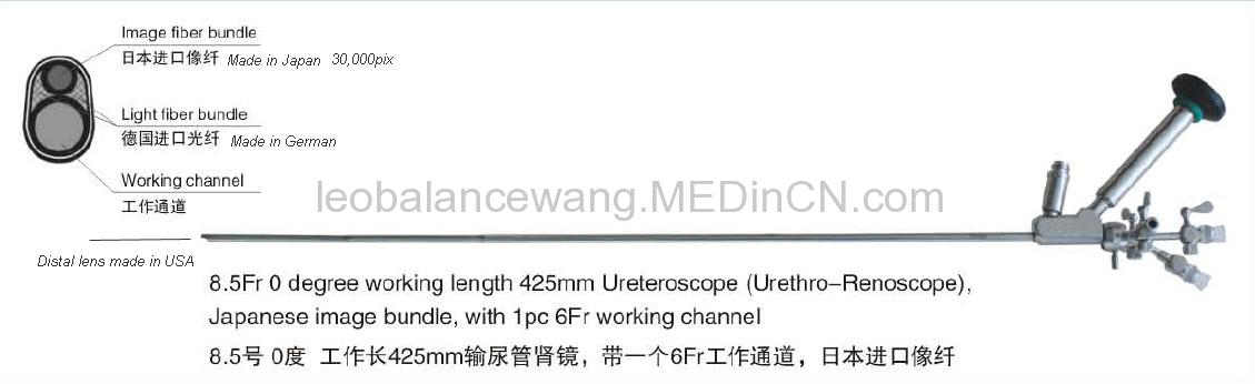 Ureterorenoscope.urology endoscope,ureteroscope