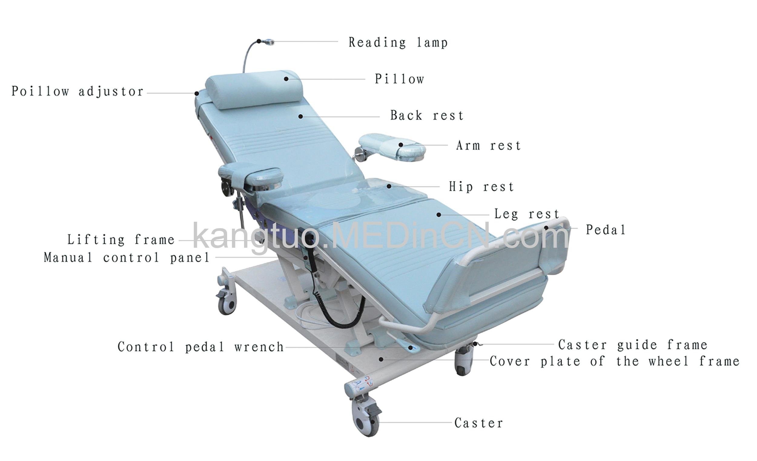 Weighing Dialysis Medical Sofa Offered By Beijing Kangtuo