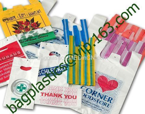 T SHIRT bags, CARRIER BAGS, Refuse SACKS