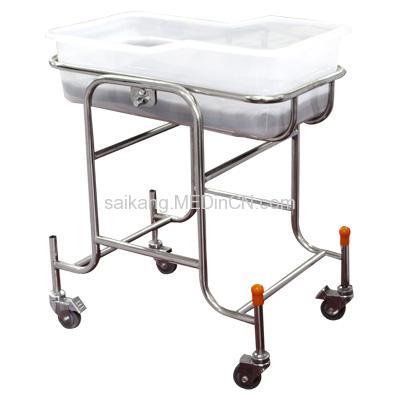 X01 Stainless steel hospital crib