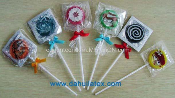 Lollipop Condom www OEMcondom com
