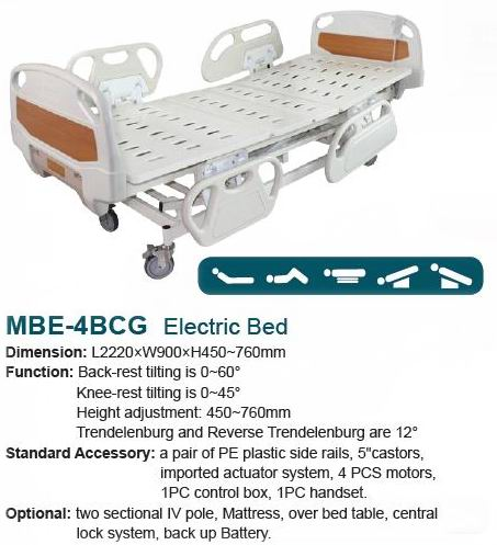 Folding bed-Electric Bed-MBE-4BCG