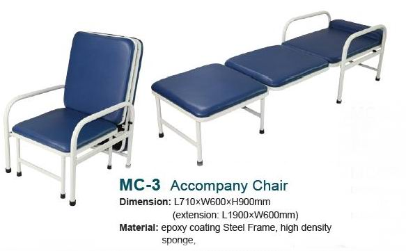 Wheelchair-Accompany Chair