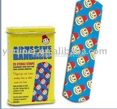 cartoon adhesive bandage