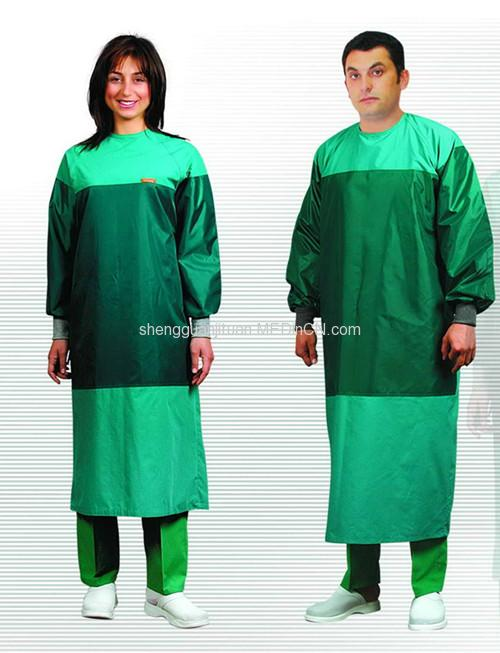 SMS Non Woven Disposable Sterile Surgical Gown