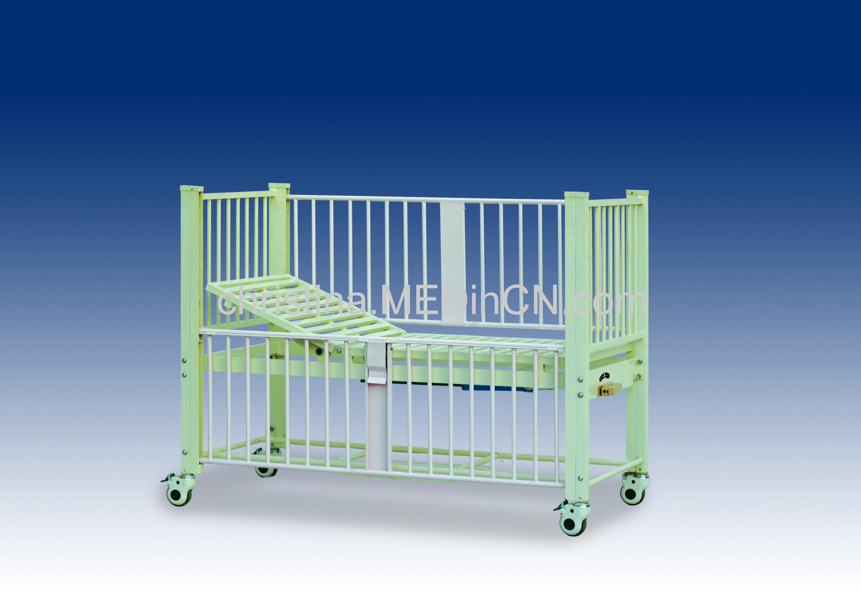 Manual Single Wave Child Care Bed