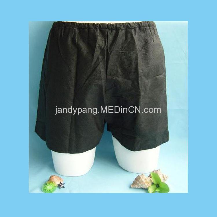 disposable non-woven boxers