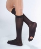 Prevention Type Front Foot Ternal Air With Grains Treatment Knee High Stocking