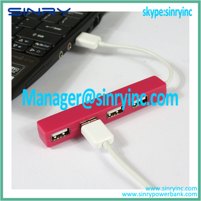 High Speed USB 2.0 Hub with Compact 4 Ports UH01