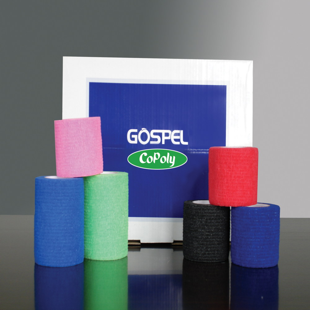 non-woven cohesive elastic bandage products