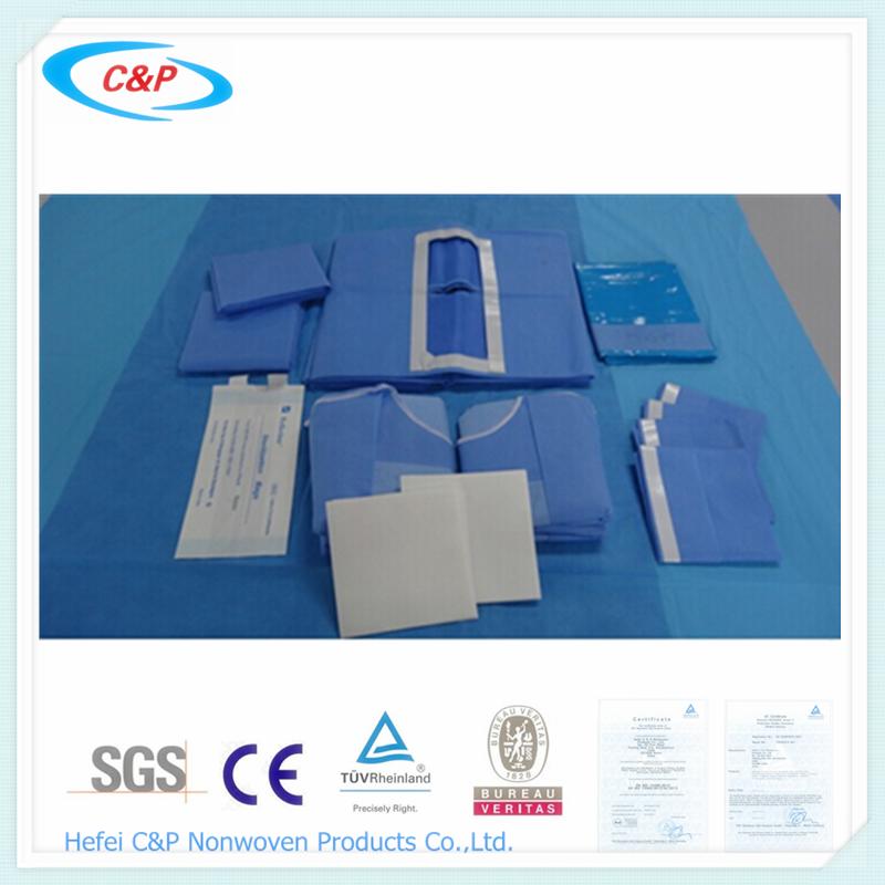 Laparotomy surgery drape pack with Sterile