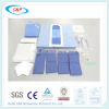 Reinforced Sterile Transverse Surgical Laparotomy Drape Pack