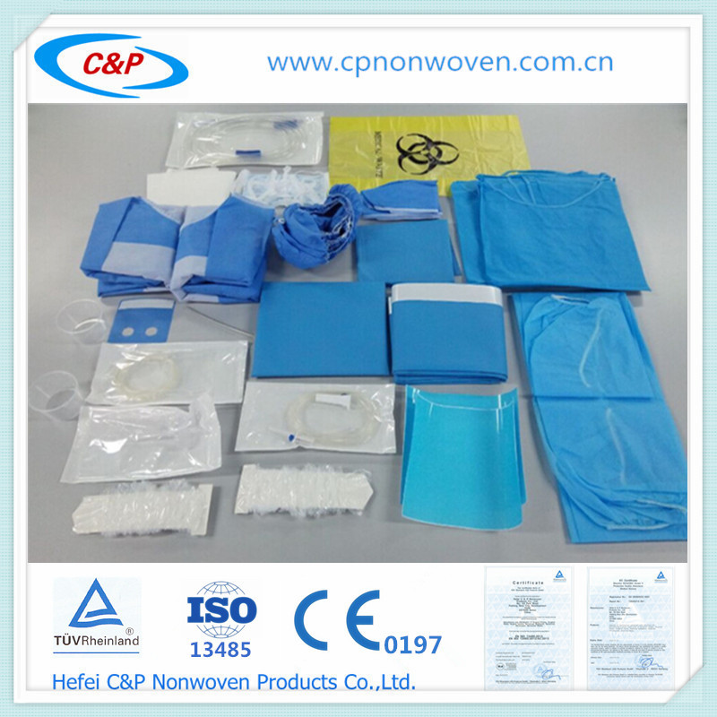 Medical SMS Nonwoven Sterile Dental implant drape packs