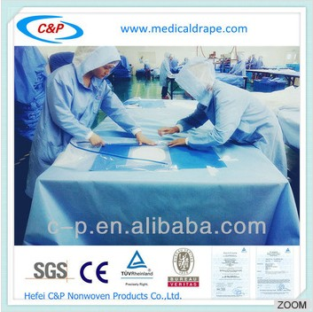Craniotomy Nonwoven Drape Pack With Incision Film