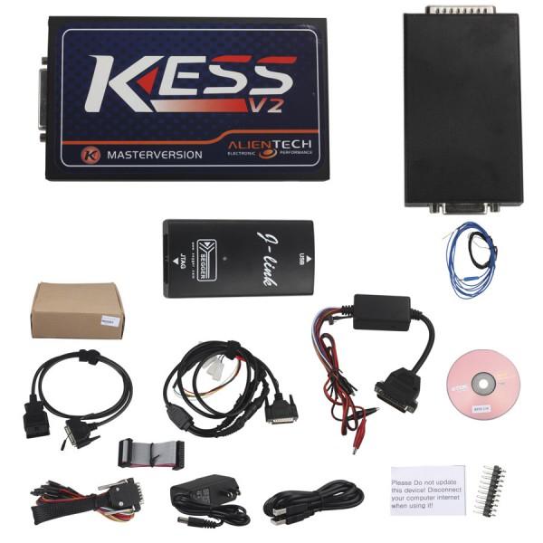 Kess V2 V2.15 Newest OBD2 Manager Tuning Kit No Token Limit Fw V4.036