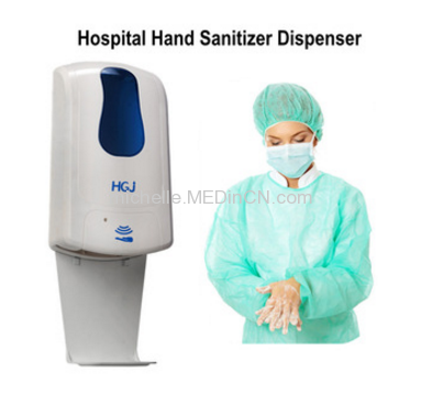 Washroom Wall Mounted Automatic Alcohol Hand Sanitizer Dispenser 1000ml Touchless