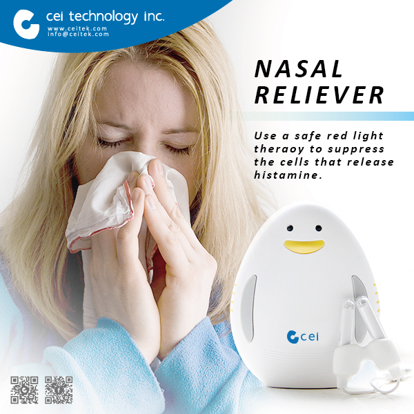 Nose Allergy Therapy Nasal Reliever