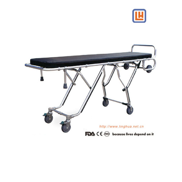 Aluminum Alloy Roll-in Medical Stretcher, Mortuary Cot, Funeral Stretcher,Body Removal Trolley,ccBody Removal Trolley